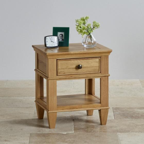 Tủ đầu giường Classic 1 ngăn gỗ sồi - IBIE