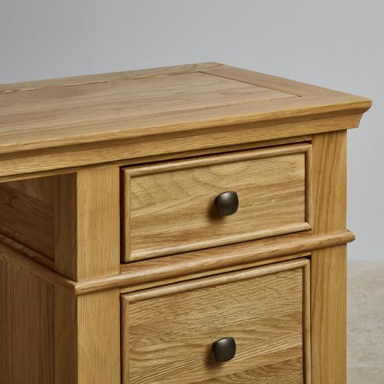 Bàn 3 ngăn kéo Classic gỗ sồi - IBIE