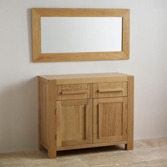Gương treo tường Cosmopolitan 120cm gỗ sồi