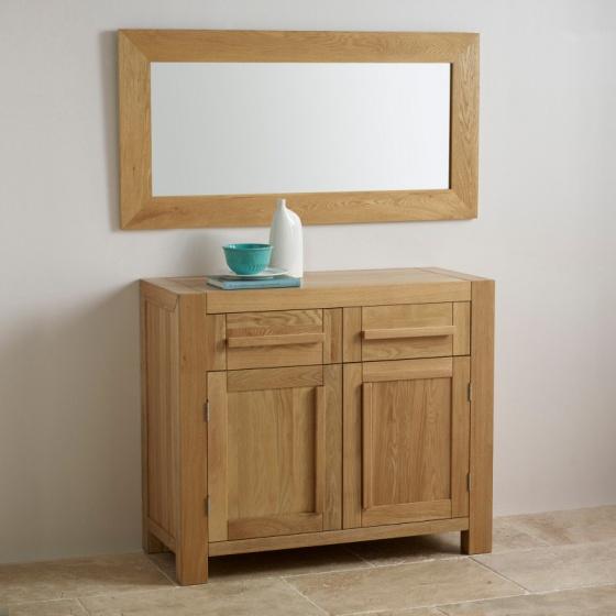 Gương treo tường Cosmopolitan gỗ sồi - IBIE