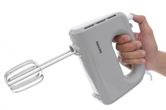 Máy đánh trứng cầm tay Philips HR3705 (Xám) hãng phân phối