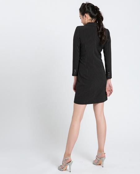 Đầm blazer Hiy DRE080 (sọc đen huyền bí)