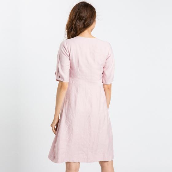 Đầm ôm ngực Hity DRE077 (hồng anh đào sakura)