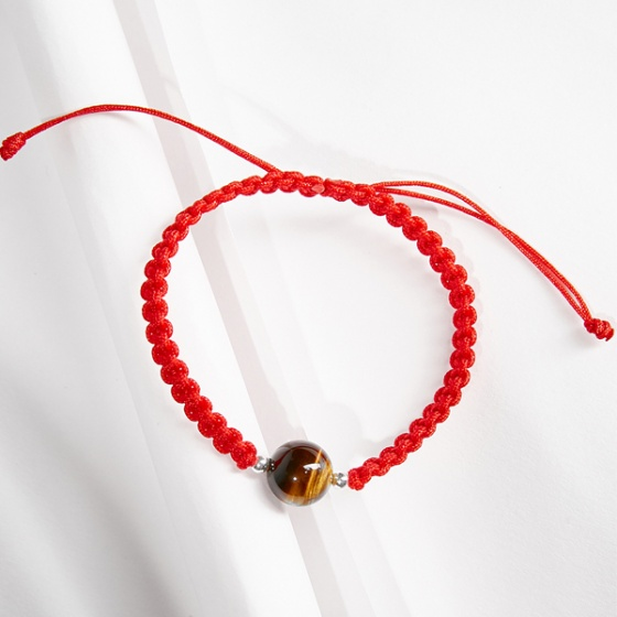 Vòng tay thắt dây đỏ đá thiên nhiên mang đến sự phú quý Ngọc Quý Gemstones