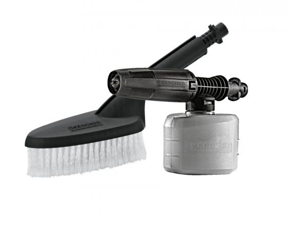 Combo máy phun rửa áp lực cao Karcher K2.360 và  bộ đầu chà và bình xịt