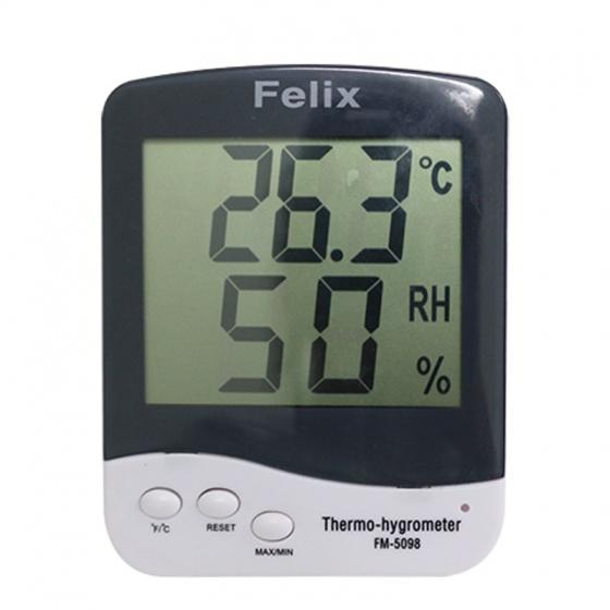Đồng hồ đo nhiệt độ, độ ẩm  Felix FM-5098