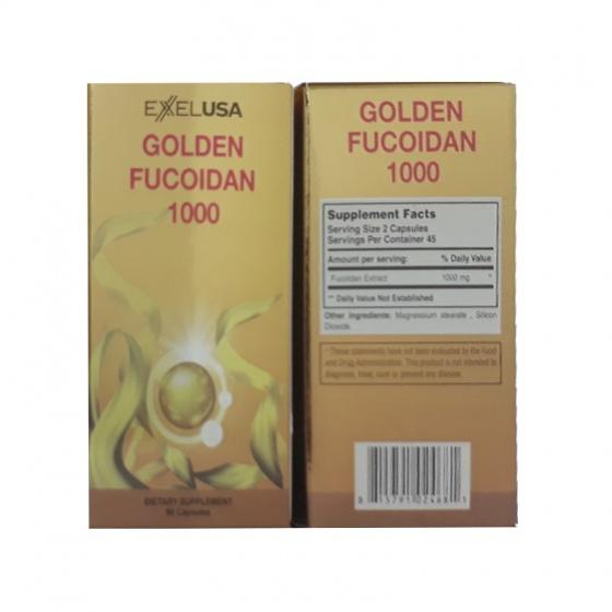 Viên uống hỗ trợ ung thư Golden Fucodian 1000 (90 viên) - Xuất xứ Mỹ