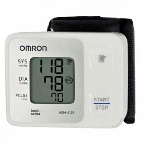 Máy đo huyết áp cổ tay Omron HEM-6121 thay thế thành HEM-6161