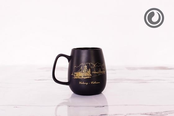 Cốc trà đen Hạ Long 0.3L SSC013A2