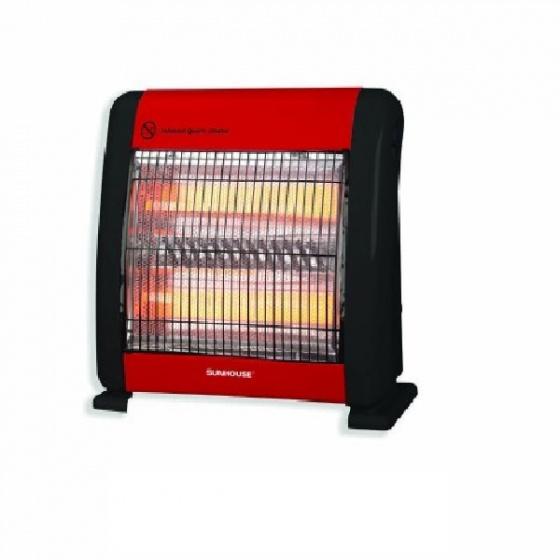 Sưởi điện hồng ngoại Sunhouse SHD7013 đỏ đen