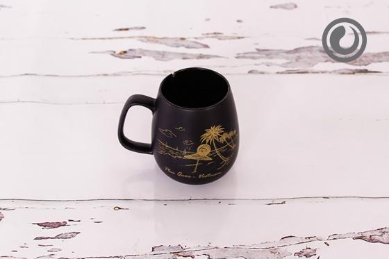Cốc trà đen Phú Quốc 0.3L SSC013A3
