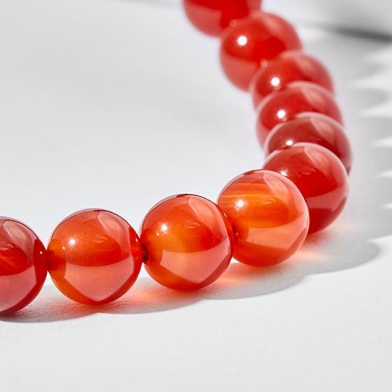 Dây chuyền đá mã não đỏ Ngọc Quý Gemstones