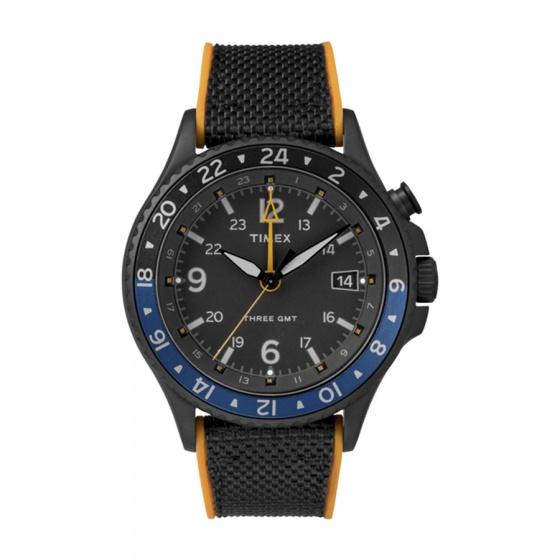 Đồng hồ nam Timex Allied Three GMT 43mm - TW2R70600