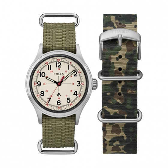 Đồng hồ nam Timex Timex x Todd Snyder Military Inspired 40mm - TWG017800