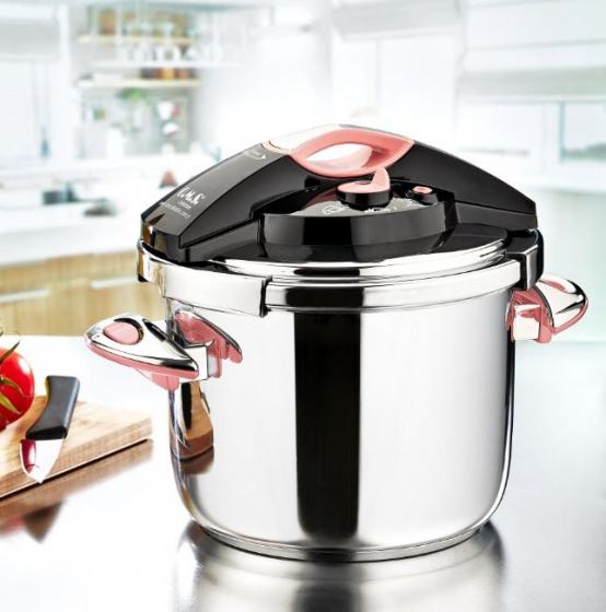 Nồi áp suất cao cấp OMS 7L made in Turkey dùng cho mọi loại bếp