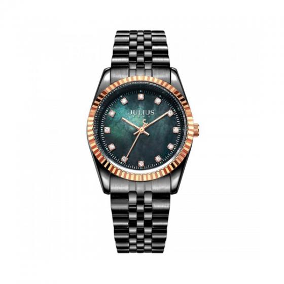 Đồng hồ nam chính hãng Julius Hàn Quốc JA-1069MI (đen)