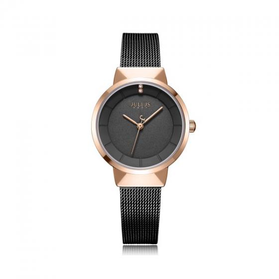 Đồng hồ nữ chính hãng Hàn Quốc Julius JA-1104LE ( Đen )