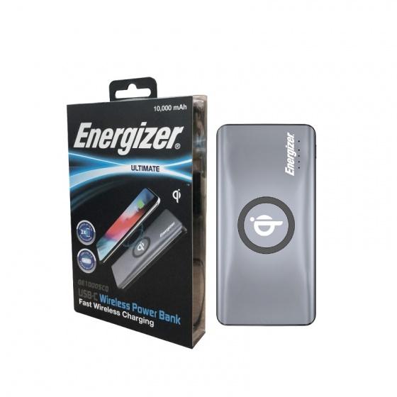 Sạc dự phòng Energizer 10,000mAh /3.7V Li-Polymer - QE10005CQ