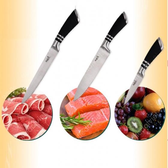 Bộ dao 8 món thép không gỉ Good Life MK88 - Tặng bộ cần câu 2.1m