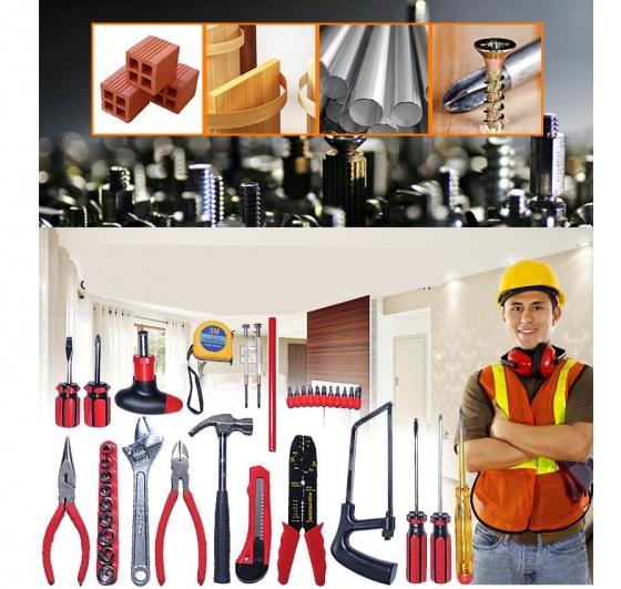 Bộ khoan cầm tay DIY 103 món MK90 - tặng ống nước đa năng