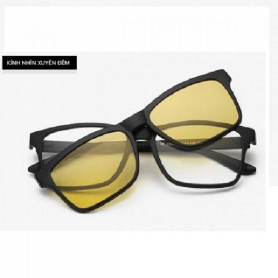 Bộ kính thời trang và 2 tròng kính