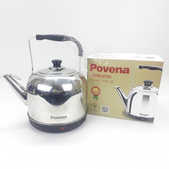Ấm đun nước điện Povena PVN-50 (5 lít)