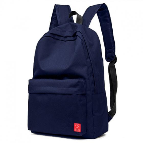 Balo thời trang Glado classical - BLL002 (màu xanh) - Tặng túi phụ kiện canvas