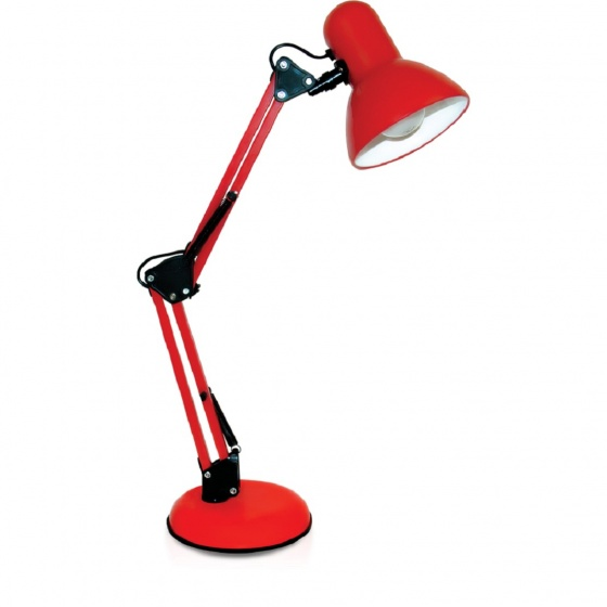 Đèn bàn bảo vệ thị lực Điện Quang ĐQ DKL14 R B (màu đỏ, bóng led daylight)
