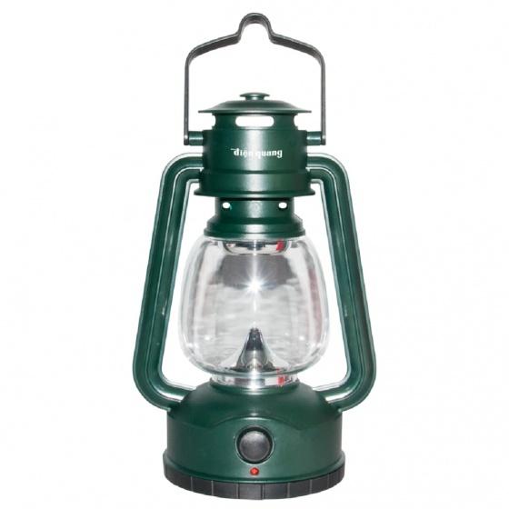 Đèn sạc Led Điện Quang ĐQ PRL04 AG (0.5W, daylight, màu xanh quân sự)