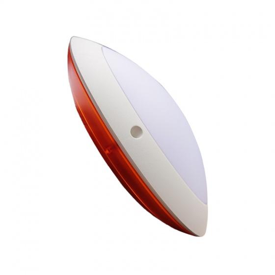 Đèn ốp trần ốp tường đế phẳng hiện đại hắt sáng viền trắng LiOA OOVP