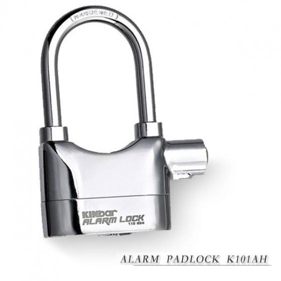Ổ khóa báo động Kinbar (mạ Crom càng dài) K101AH