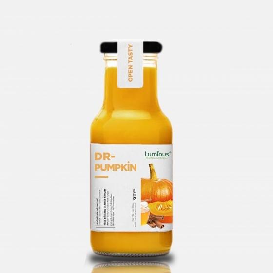 Detox nước ép trái cây bí đỏ, sữa dừa, mật ong, quế