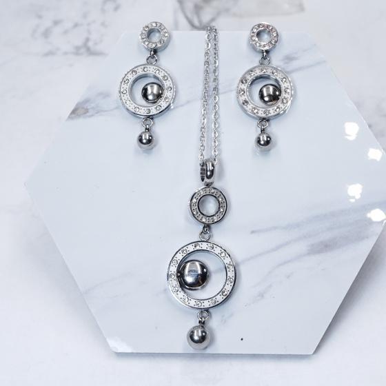 Bộ trang sức Titan Locky - Tatiana - DT1070