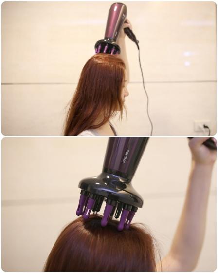 Máy sấy tóc ion Philips HP8233 hãng phân phối