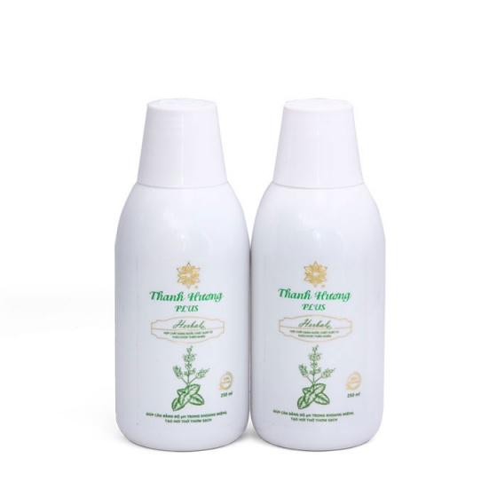 Nước súc miệng thơm miệng Thanh Hương Plus Combo 2