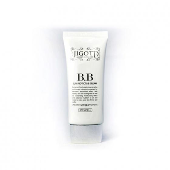 Kem nền dưỡng trắng Jigott Sun Protect BB Cream Daandan Bit