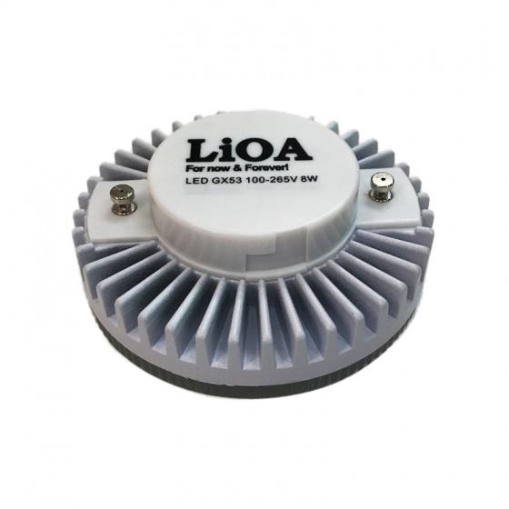 Bóng Led LiOA GX53/3W/V ánh sáng đèn màu vàng