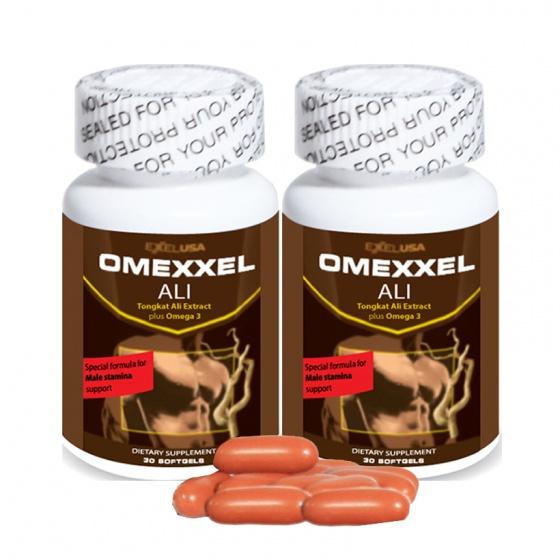 Combo 2 lọ viên uống tăng cường sinh lý nam Omexxel Ali 60 viên - Xuất xứ Mỹ