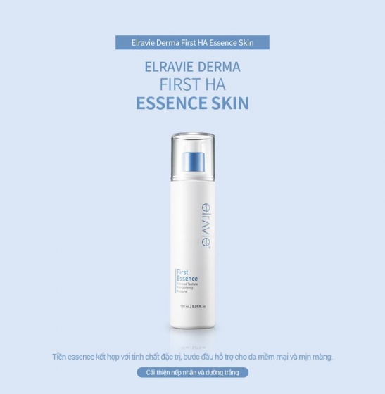 Nước cân bằng da Elravie First HA Essence Skin 150ml