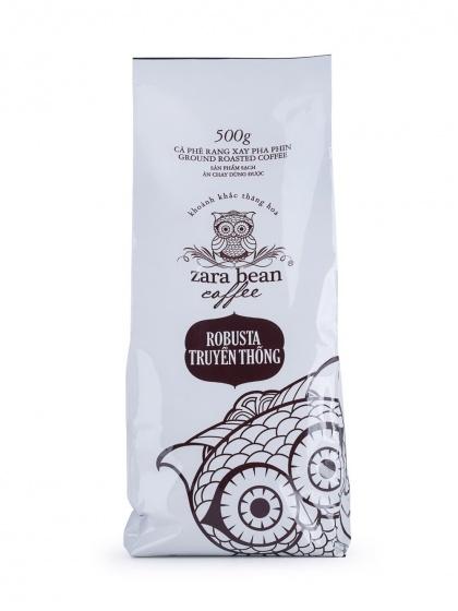 Cà phê pha phin Robusta Truyền Thống ( 2 túi x 250g)