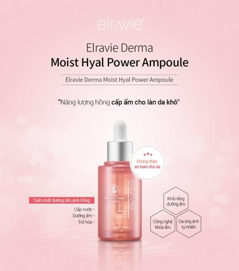 Ampoule cấp ẩm Elravie Moist Hyal Power 45ml