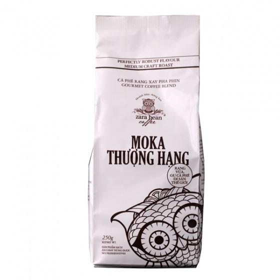 Cà phê pha phin Moka Thượng Hạng (2 túi x 250g)