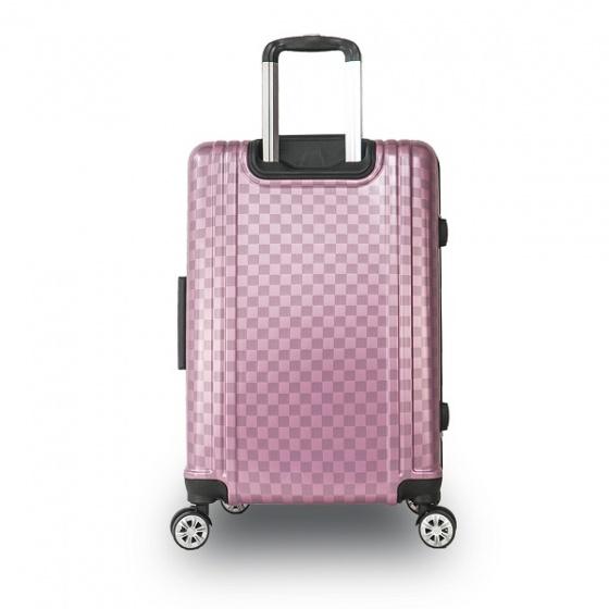 Bộ 2 vali khung nhôm Trip A08 size 50cm+60cm hồng