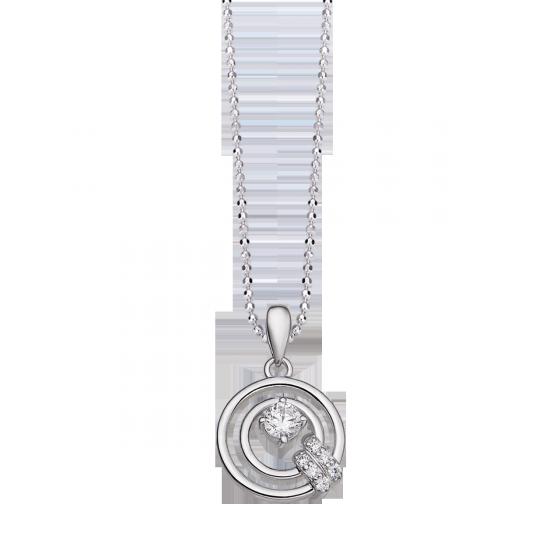 Mặt dây chuyền bạc đính đá PNJSilver Fantasia XMXMK000263