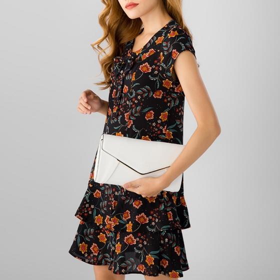 Túi thời trang 5051cl0007 Sablanca - trắng