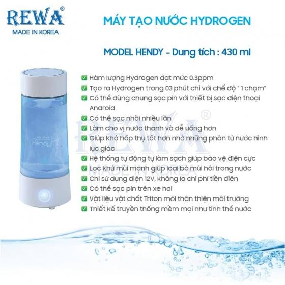 Máy tạo nước Hydrogen Công nghệ Nhật Bản - tốt cho mọi người