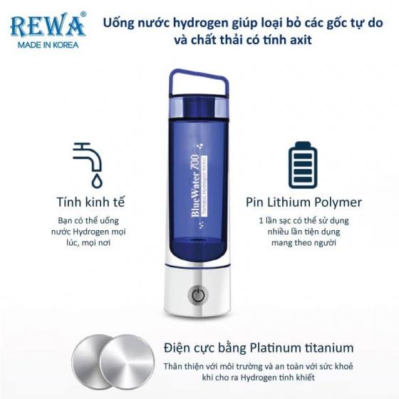 Máy tạo nước Hydrogen Hàn Quốc Rewa Bluewater700