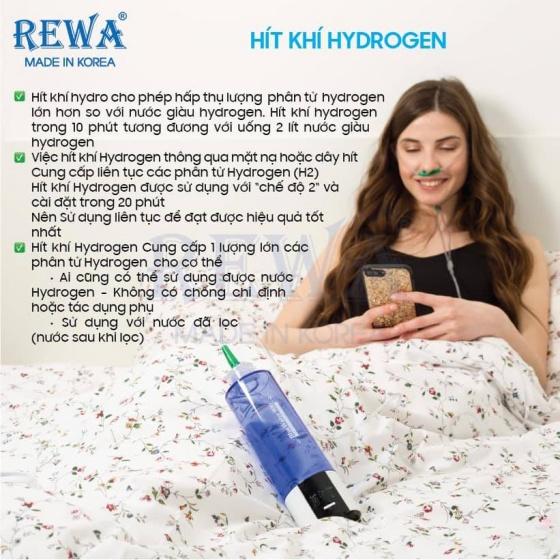 Máy tạo nước Hydrogen Rewa Bluewater 900