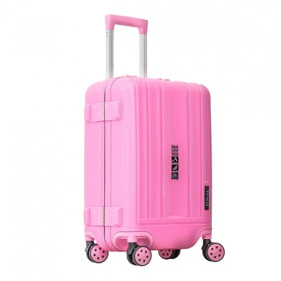 Vali khung nhôm Trip A09 size 50cm hồng