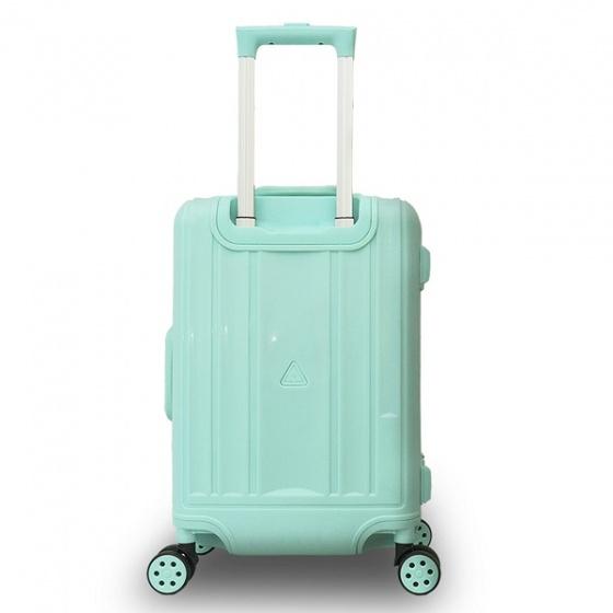 Vali khung nhôm Trip A09 size 50cm xanh ngọc